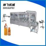 食品灌装机械三合一饮料灌装机 全自动灌装机 灌装饮料机械
