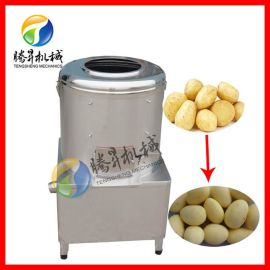 土豆剝皮機 商用土豆清洗脫皮機 滾筒式脫皮效果好