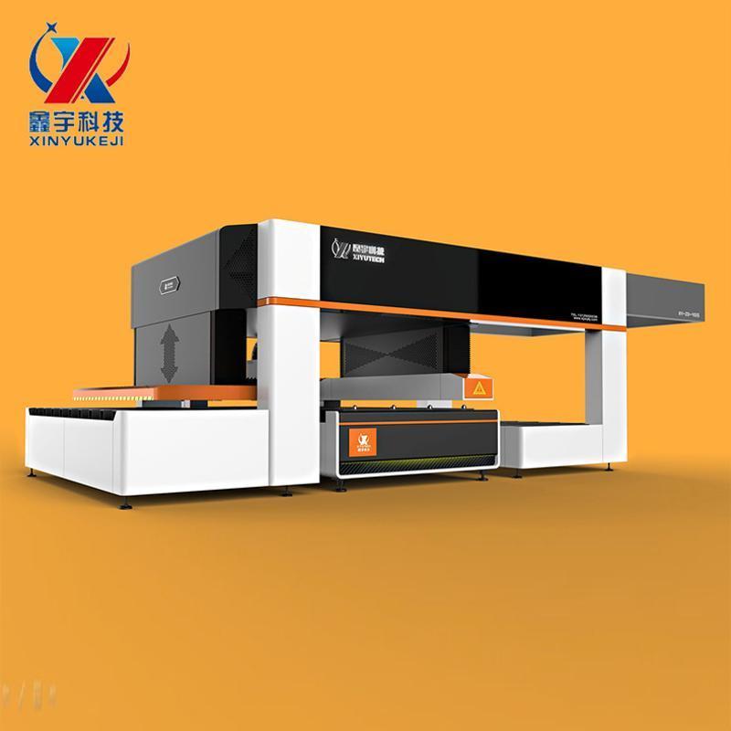 全自动激光覆膜外形切割机 厂家  外形切割机