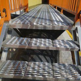 建筑钢跳板 脚踏板 鱼嘴防滑板