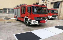 消防车360°全景影像 行车记录仪 360度环视系统