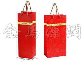 红色金边纸质  袋