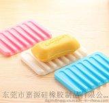 硅胶香皂碟 香皂沥水架 硅胶肥皂盒