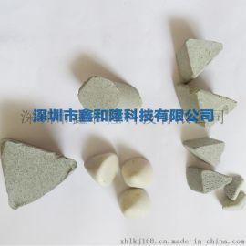 鑫和隆供应棕刚玉小圆柱形打毛刺石 研磨石 振光石