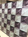 家居、酒店、KTV装饰背景墙车刻大理石平板喷绘玻璃艺术玻璃 可定做生产