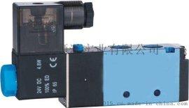 气动元件电磁阀 4V110-06/M5-220V/24V气缸配件控制阀门气阀快排阀门