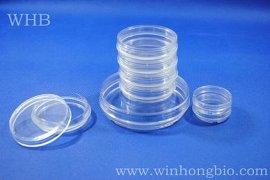 tc处理标准透明100mm带边细胞培养皿,灭菌细胞培养皿