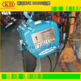 韩国KUK DONG电动葫芦,固定式/运行式,KD-1环链电动葫芦