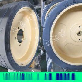 实心叉车轮胎 工程机械实心轮胎 650-10实心轮胎