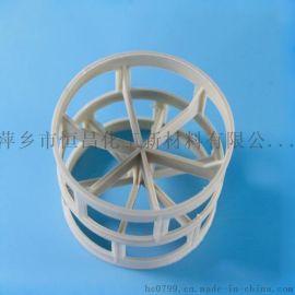 PPH鲍尔环填料 PPH鲍尔环 塑料鲍尔环 塑料环
