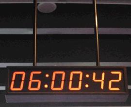 北京泰福特体育馆GPS网络可调节高亮度数字子钟