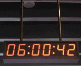 北京泰福特體育館GPS網路可調節高亮度數位子鍾