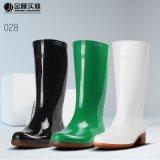 金橡勞保雨鞋女士高筒雨靴時尚食品廚房膠靴828