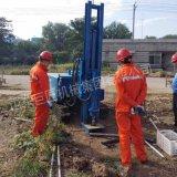 巨匠集團履帶式取土鑽機 直推式土壤採樣機環境檢測套管取樣鑽機
