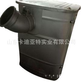 陕汽德龙F3000消声器总成 DZ91259540008
