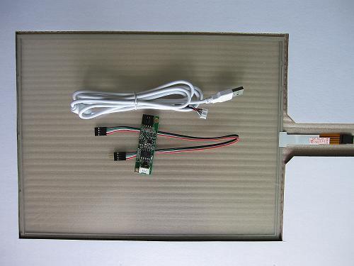 四線電阻式觸摸屏(10.2寸)