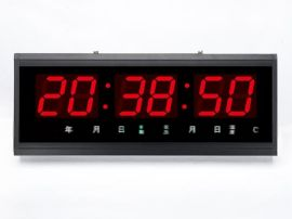 车载时间同步时钟 地铁数字钟 车站数字钟数字时钟
