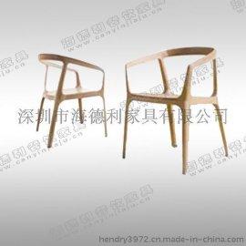 厂家直销 供应复古餐椅 实木椅子 时尚休闲咖啡店椅 创意软垫凳子