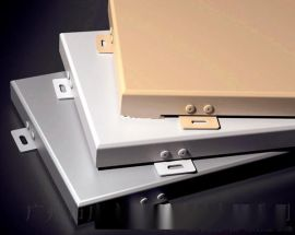 【铝单板】艺术装饰效果-现代风格装饰铝单板