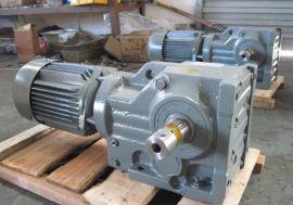 语英专业生产K37系列螺旋锥齿轮减速机,结实耐用,质保一年。