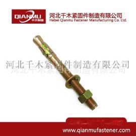 厂家直销 永年车修壁虎 车修壁虎螺栓 碳钢镀锌10*100
