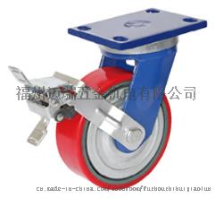 纺织化纤领域专用型5英寸PU防缠绕脚轮