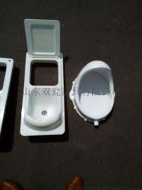 农村厕所改造干封式粪尿分集蹲便器