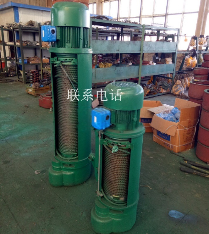 起重机配件厂 **1T-6M钢丝绳电动葫芦