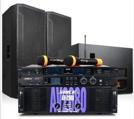 狮乐 AV2080/BM25专业大型户外舞台功放音响组合套装系统