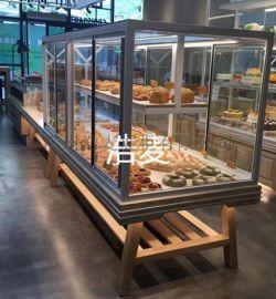 面包柜 中岛柜 面包展示柜欧包柜