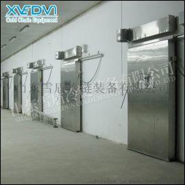 冷藏库门 电动平移冷库门 优质冷库门厂家