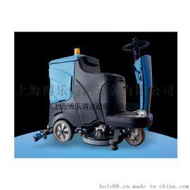 上海厂家直销工厂车库地面清洗用驾驶式洗地机