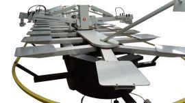 全自动多色椭圆印花机厂家 泉州椭圆型服装裁片印花机