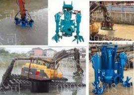 北海勾机绞吸砂浆泵 沙河抽沙专用混浆泵 挖掘机大功率采砂泵