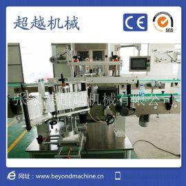 张家港超越机械 全自动双面不干胶贴标机   全自动平面贴标机