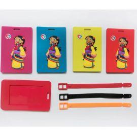 PVC行李牌、滴胶行李牌