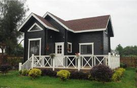 森威 风情木屋 木制别墅 现代中式木屋板房 可移动拆卸随时搬走用房