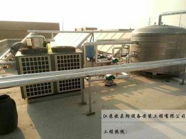 常州兴勤电子公司食堂太阳能空气能热水工程