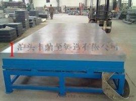 铸铁平台和铸铁检验平台的区别