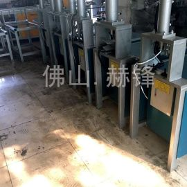 RE2-K63油压镀锌方管围栏横管压孔机冲孔机 不锈钢液压冲孔机