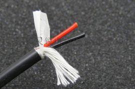 2芯拖链电缆TRVV2*1.0超柔耐磨耐弯曲耐折抗拉伺服器拖链电缆