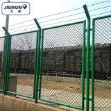 厂区钢丝隔离网 车间菱形金属防护网 室内钢板网护栏厂家直销