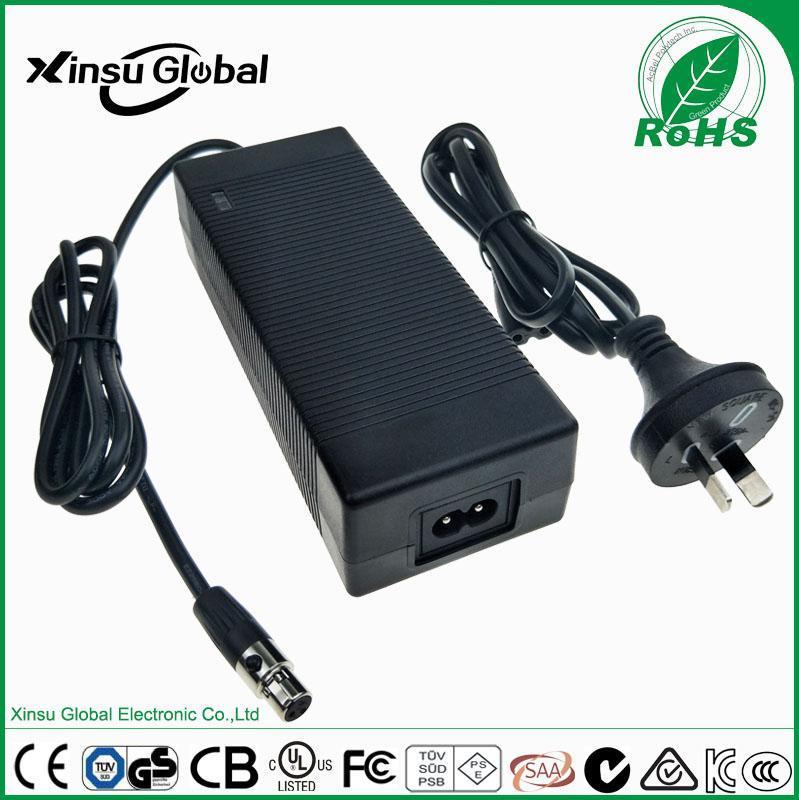 12V7A电源适配器 XSG1207000 通过中国CCC认证 xinsuglobal 中规3C认证 12V7A电源适配器