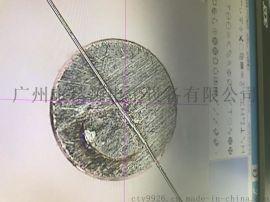 镍钴合金漆包线与铜镀镍端子精密点焊机