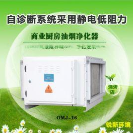 静电式油烟净化器 工业油烟收集器 商用餐饮设备 油烟过滤器