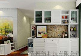覺色餐櫥櫃收納功能強大,提供定制餐櫥櫃服務