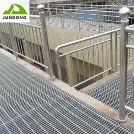 鋼格柵廠家直銷防滑電廠排水準臺踏步鍍鋅鋼格柵板