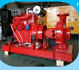 高扬程柴油机离心泵 矿山柴油机水泵机组