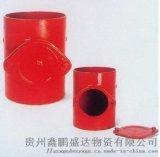 柔性铸铁检查口DN50-DN300厂家