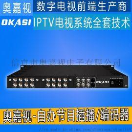 电教化电视系统-IPTV组播机顶盒-八路高清一体机